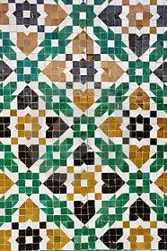 Viajes a TUNEZ. Mosaico ARABE